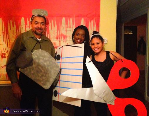 Rock, Paper, Scissors Costume