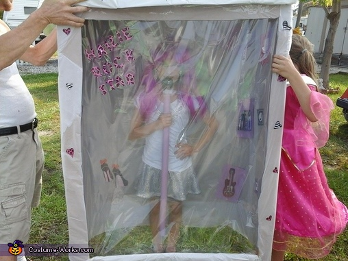 Hailie Rock Star, Rock Star Doll in a Box Costume