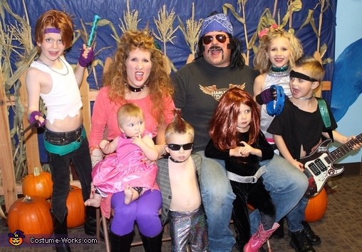 Rock Star Family Costume