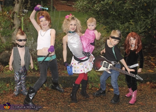 Rockin' Kids, Rock Star Family Costume