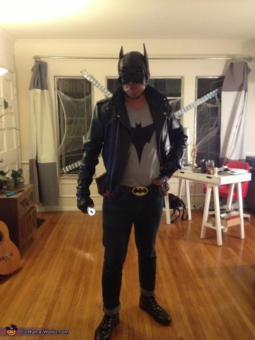 Greaser/Rockabilly Batman, Rockabilly Batman and Pinup CatWoman Costume
