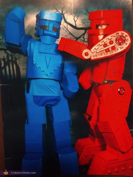 Rock'em Sock'em Robots Homemade Costume