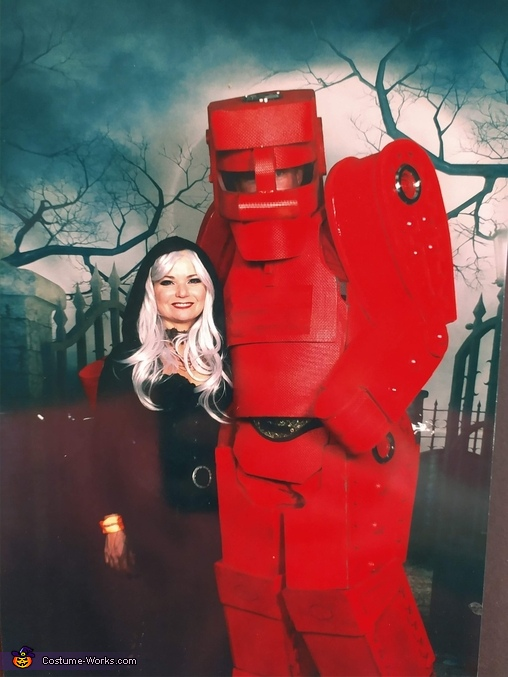 Rock'em Sock'em Robots Homemade Costume