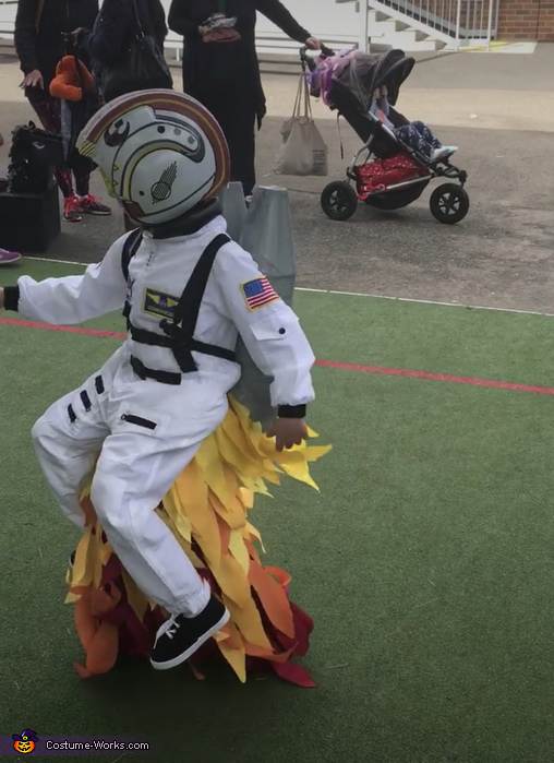 Other side, Rocket Boy Costume