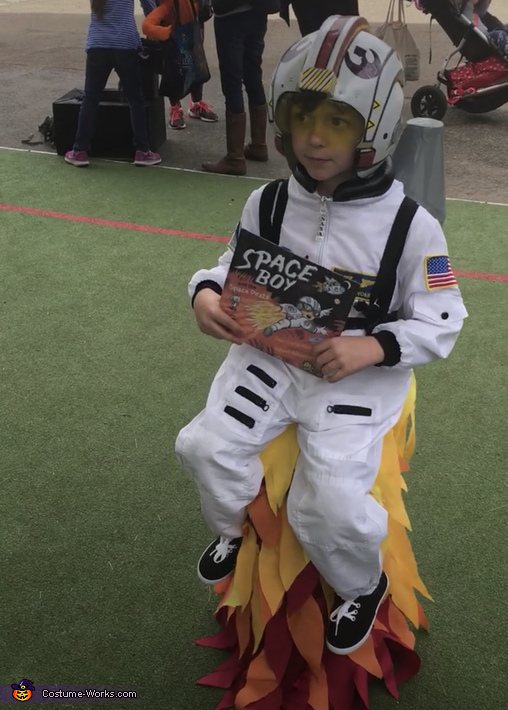 Front view, Rocket Boy Costume