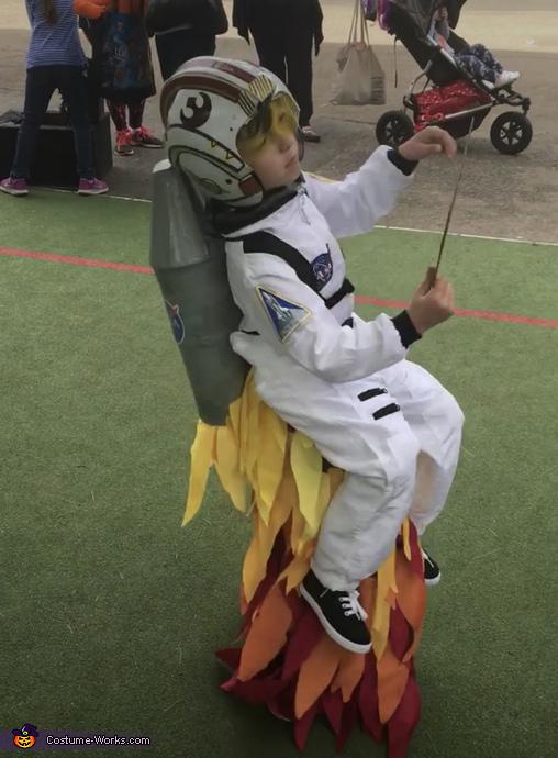 Rocket Boy Homemade Costume