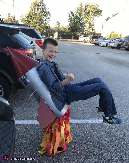 Rocket Man Costume