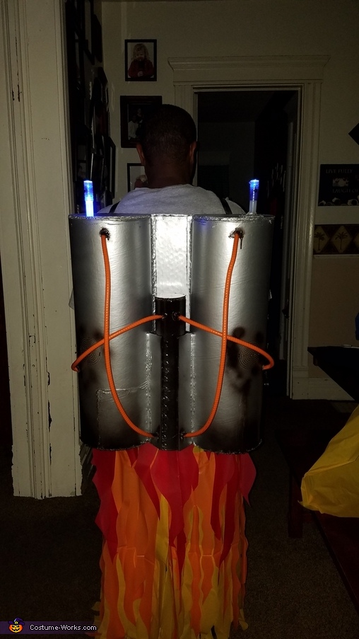 Jet pack, Rocket Man Costume