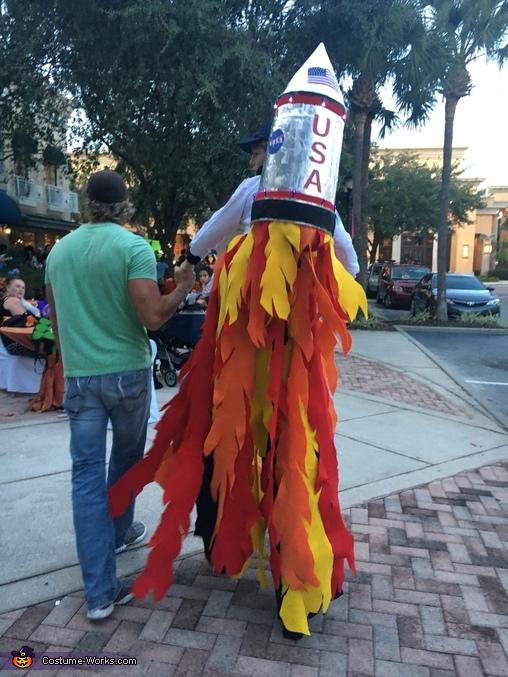 Rocket Man Illusion Costume Photo 2 3