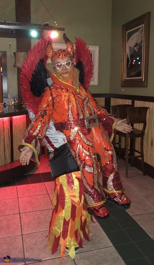The original Rocket Man Elton John Costume
