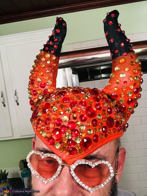 Turned it into this!, The original Rocket Man Elton John Costume