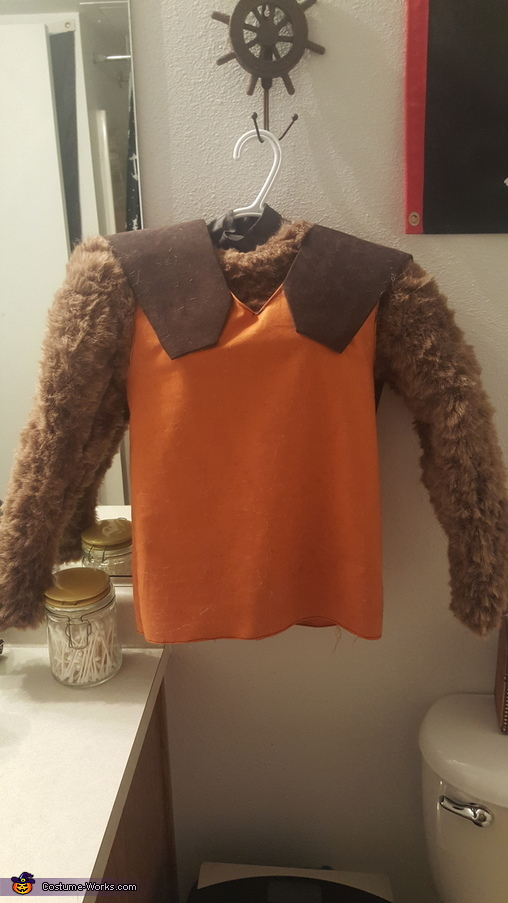 Here's the top!, Rocket Raccoon Costume