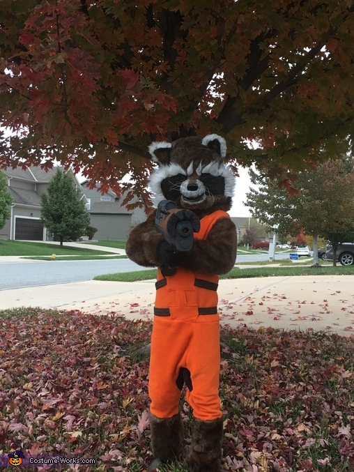 Rocket Raccoon Homemade Costume