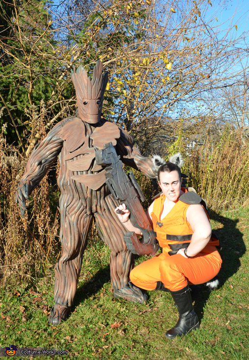 Guardians of the Galaxy - Rocket Raccoon & Groot Costume