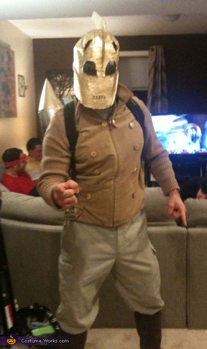 DIY Rocketeer Costume