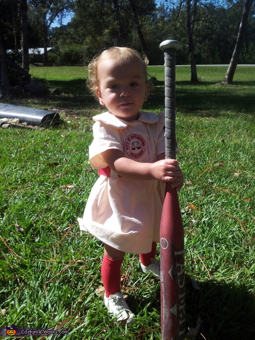 Rockford Peach Baby Costume
