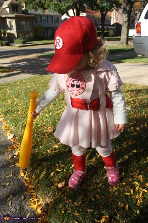 Rockford Peach Child Costume