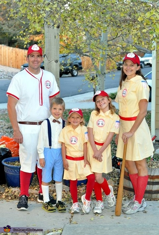 The Rockford Peaches Costume