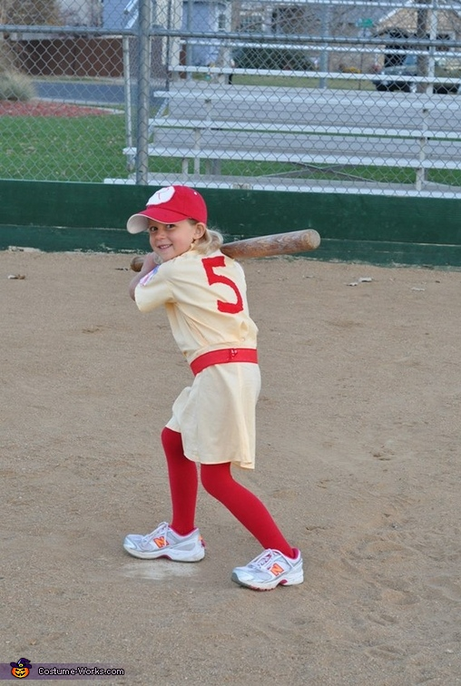 All the Way May, The Rockford Peaches Costume