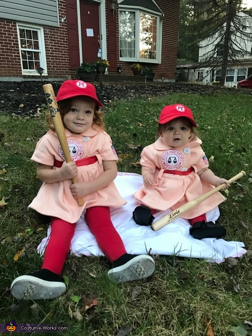 Rockford Peaches Dottie and Kit Costume