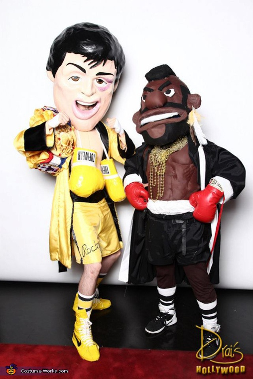 Rocky and Mr.T Homemade Costumes