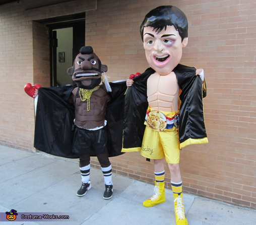 30 minute abs!, Rocky and Mr.T Homemade Costumes
