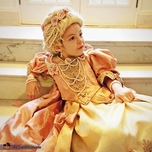 Rococo Cinderella Costume