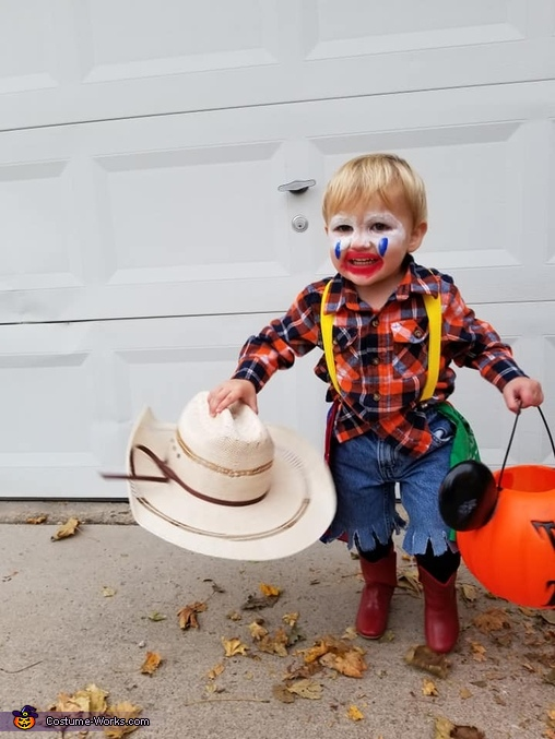 trick or treat!, Rodeo Clown Costume