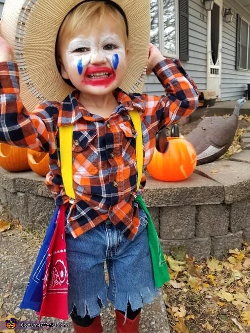 Rodeo Clown Homemade Costume