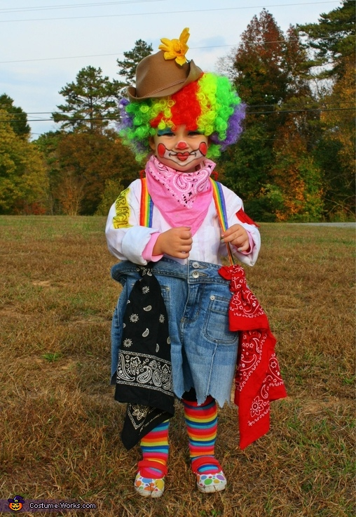 Rodeo Clown Costume & DIY Rodeo Clown Costume
