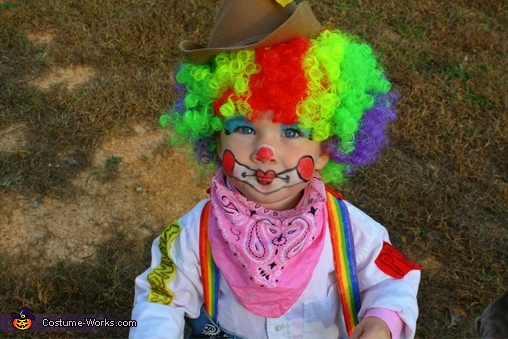 Rodeo Clown Baby Costume