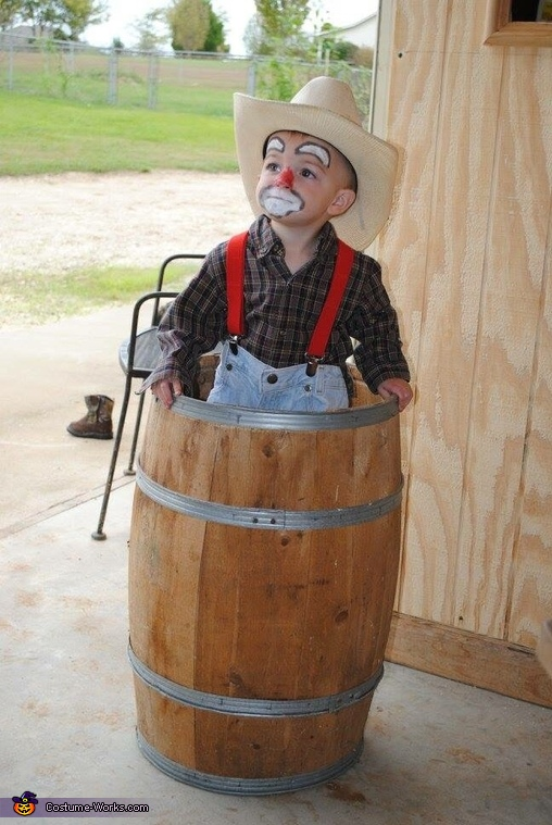 Just clown in' around!, Rodeo Clown Costume
