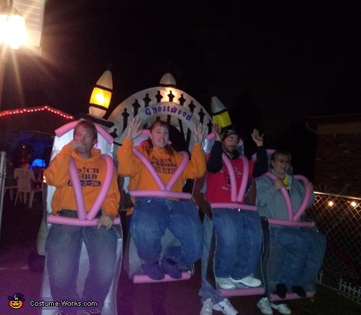 Roller Coaster Homemade Costume