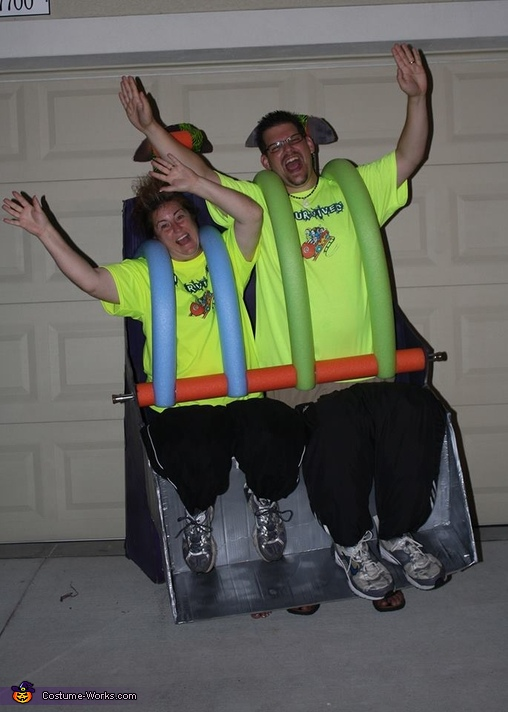 Roller Coaster Ride Costume