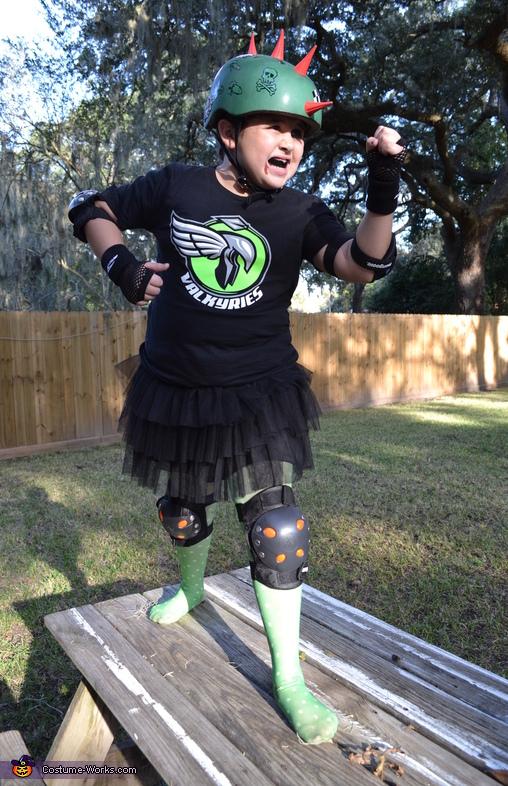 Roller Derby Diva Halloween Costume