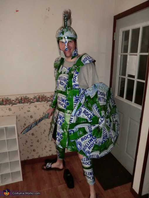Rolling Rock Spartan - Homemade costumes for men