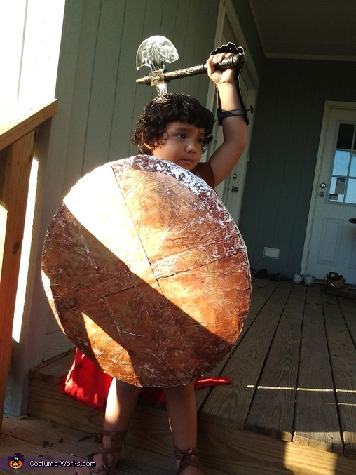 Roman Soldier Homemade Costume