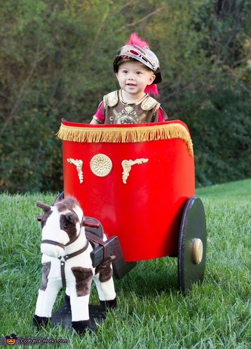 Roman Soldier Baby Costume