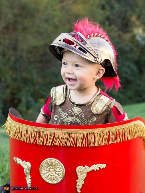 Roman soldier helmet Roman Soldier Baby Costume  sc 1 st  Costume Works & Roman Soldier Baby Costume - Photo 2/4
