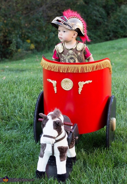 Assessing the battlefield, Roman Soldier Baby Costume