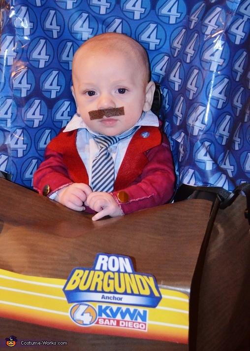 Ron Burgundy Baby Costume