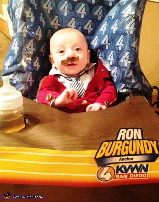 I'm Ron Burgundy?, Ron Burgundy Baby Costume