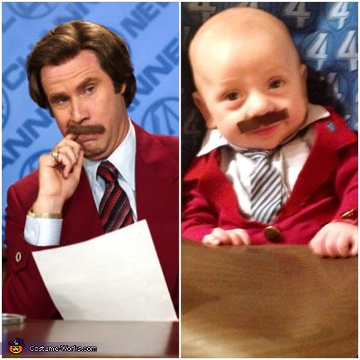 You Stay Classy San Diego, Ron Burgundy Baby Costume