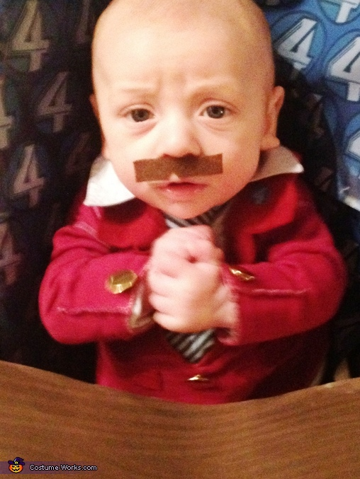 That escalated quickly, Ron Burgundy Baby Costume