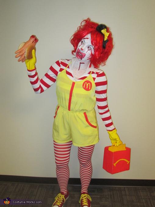 Ronald Mcdonald Costume