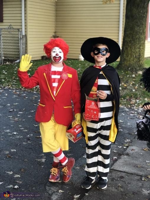 Ronald McDonald Homemade Costume