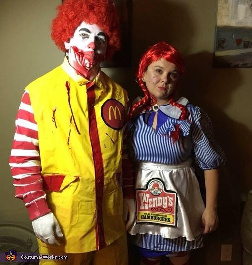 Ronald McDonald & Wendy Costume