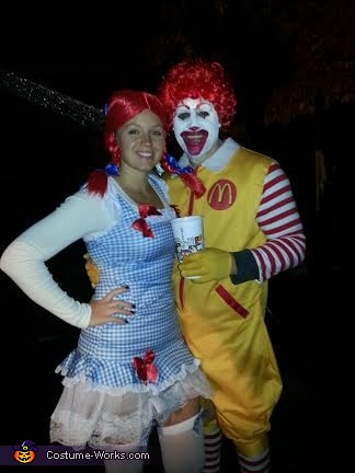 Ronald & Wendy Couples Costume