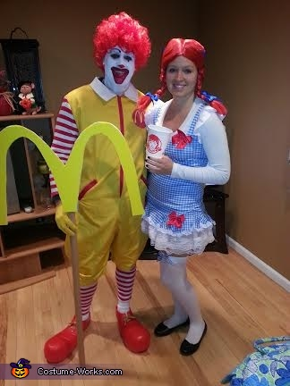Ron & Wendy, Ronald & Wendy Couples Costume