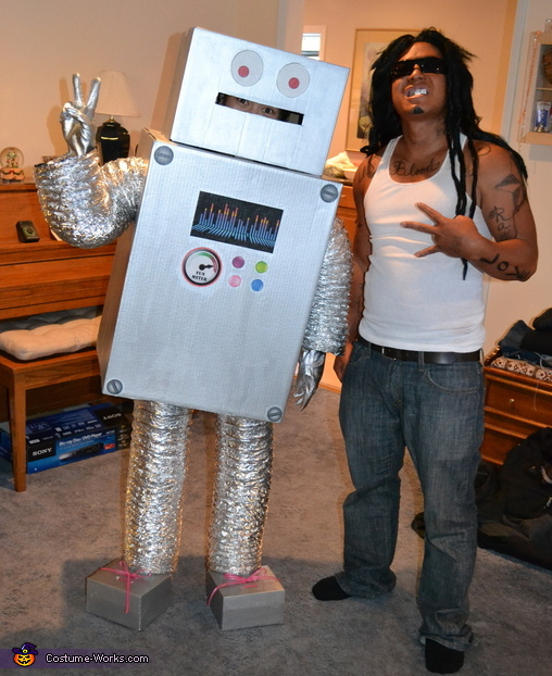 Ronnie the Robot Costume